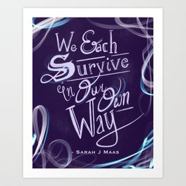 Survive Art Print
