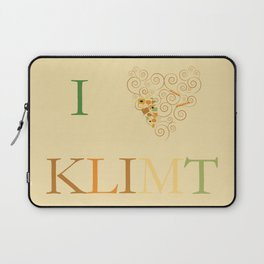 I heart Klimt Laptop Sleeve