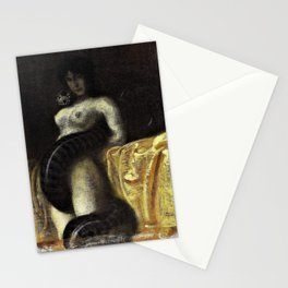 Franz von Stuck - The sensuality - Digital Remastered Edition Stationery Cards