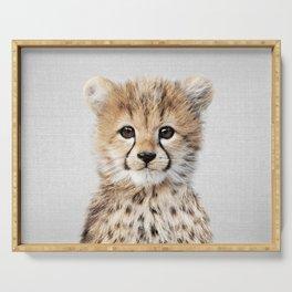 Baby Cheetah - Colorful Serving Tray