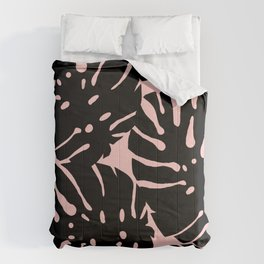 Selah's Garden - Monstera Deliciosa Leaf Cut Out Comforters