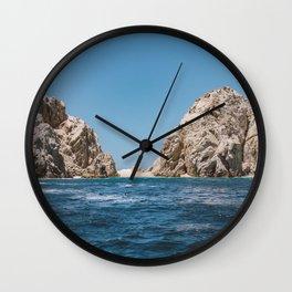 Lovers Beach Wall Clock