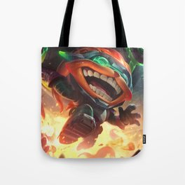 Odyssey Ziggs League Of Legends Tote Bag