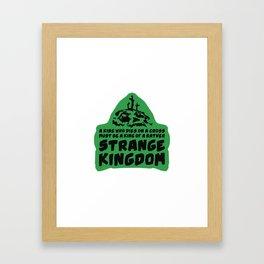 Strange Kingdom Framed Art Print