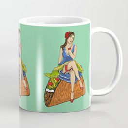 Pinup Taco Coffee Mug