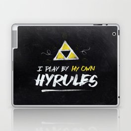 Legend of Zelda Inspired Type I Play by My Own Hyrules Laptop & iPad Skin
