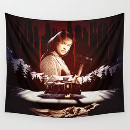 The Horror of Misery Wall Tapestry