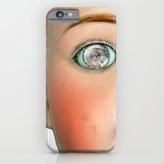 Mad-Eyed Mentalembellisher Victorian Porcelain Doll iPhone 6s Slim Case