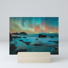 Northern light Mini Art Print