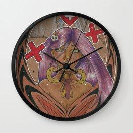 Healing Heart Wall Clock