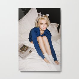 Love In Stereo ~ Sky Ferreira Metal Print