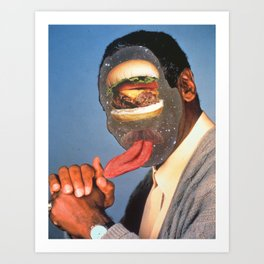 knuckle sandwhich (from god!) Art Print