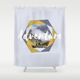 Your mountain is waiting... Shower Curtain