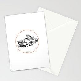 Crazy Car Art 0007 Stationery Cards