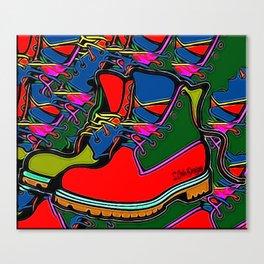 Timbs Canvas Print