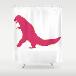 T-Rx Shower Curtain