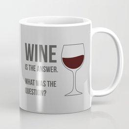 The Best Answer Coffee Mug