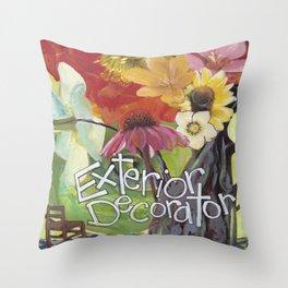 Exterior Decorator Throw Pillow