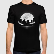 Goodnight Mens Fitted Tee Black SMALL