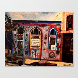 Positively Haight Street  Canvas Print