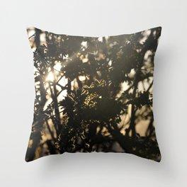 Silhouette Throw Pillow
