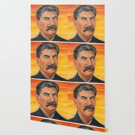 Joseph Stalin Vintage Portrait Wallpaper