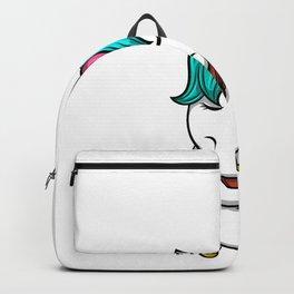 Unicorn chemistry violin music elements gift Backpack