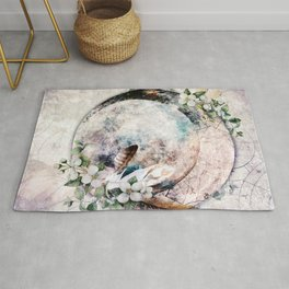 Strawberry Moon Rug