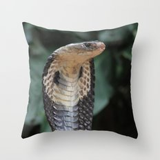 I am not slimey Throw Pillow