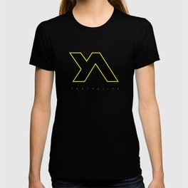 Youth Alive Yellow & Black on Black T-shirt
