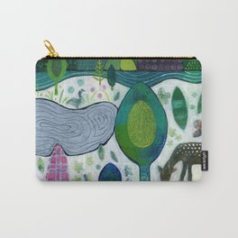 Playful Dawn Carry-All Pouch