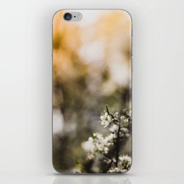 Blooming, Blossom, Sunflare - Spring in my Hearth! iPhone Skin