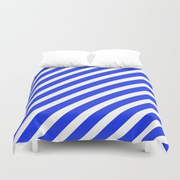 Basic Stripes Blue Duvet Cover