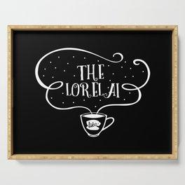 The Lorelai (white font) Gilmore girls inpsired Serving Tray
