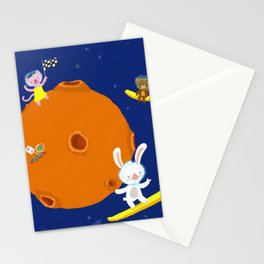 Space Fun Stationery Cards