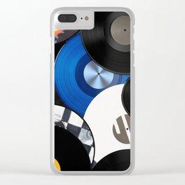 Vinyls Clear iPhone Case