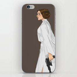 Leia Organa iPhone Skin