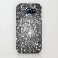 Black Slate Sparkle Stars Slim Case Galaxy S8