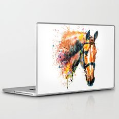 Colorful Horse Head Laptop & iPad Skin