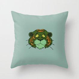 Cringer Throw Pillow