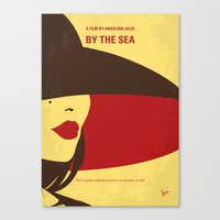 No805 My By the Sea minimal movie poster Canvas Print