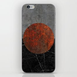 Abstract - Marble, Concrete, and Rusted Iron II iPhone Skin