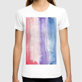 24     190907   Watercolor Abstract Painting T-shirt