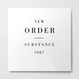New Order Metal Print