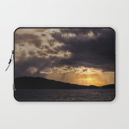 Dramatic change in the weather Laptop Sleeve