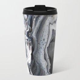 Marble B/W/G Travel Mug
