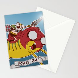 Power Time Stationery Cards