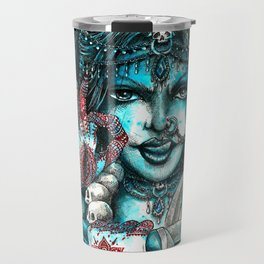 Goddess Kali Travel Mug