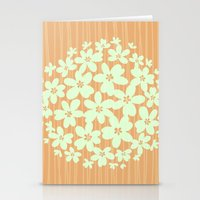 hawaiian Stationery Cards featuring Hawaiian Orange by Endless Summer