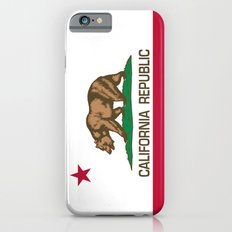 California Republic Flag, High Quality Image Slim Case iPhone 6